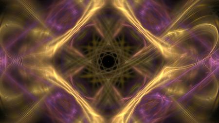 Motif fractal coloré chaotique fantastique. Formes fractales abstraites. Fond d'illustration de rendu 3D ou papier peint. Banque d'images
