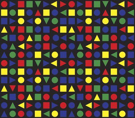 bauhaus: Seamless Retro Pattern