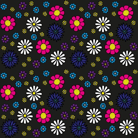 bedclothes: Seamless Flower Pattern