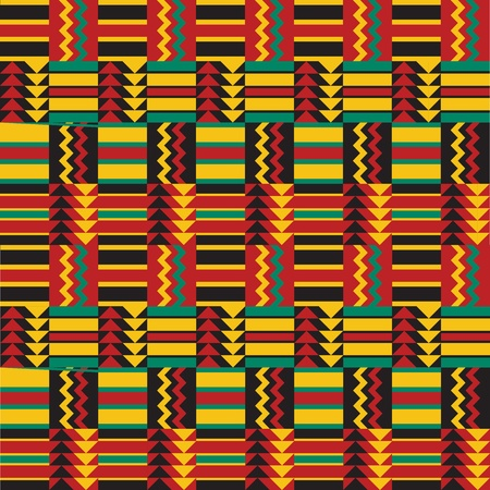African Ethnic Background Vector