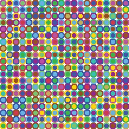 Disco dots background Illustration