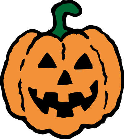 Halloween Pumpkin Stock Vector - 18314464