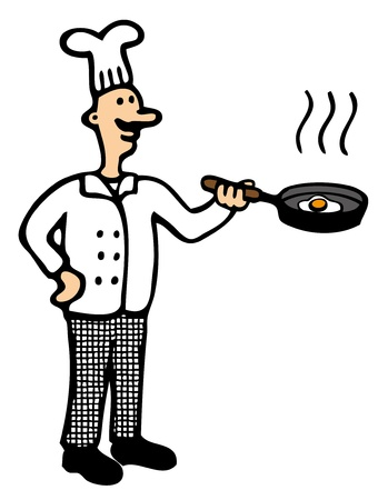Cartoon Chef Stock Vector - 18314452