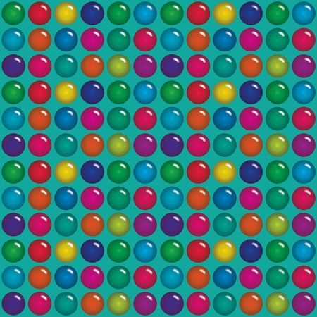 bubble gum: Translucent Candy Drops Background  Illustration