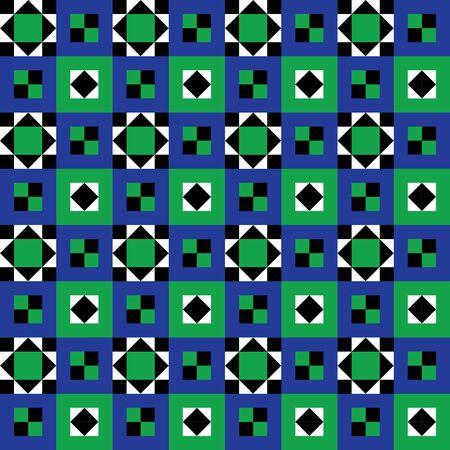 angola: Retro Seamless Floor Pattern