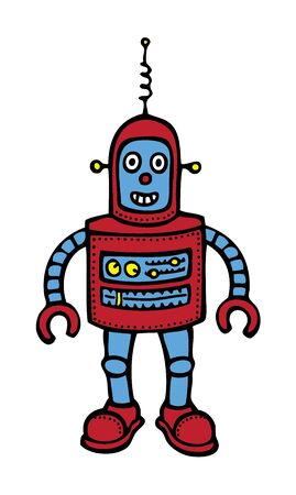 Baby Robot Stock Vector - 18316188