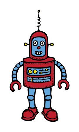 robot cartoon: Baby Robot