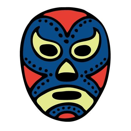 traje mexicano: Wrestling máscara