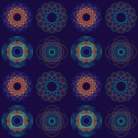 Intricate Circular Pattern Illustration