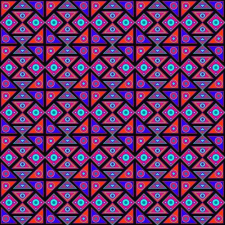 Modern african pattern Vector