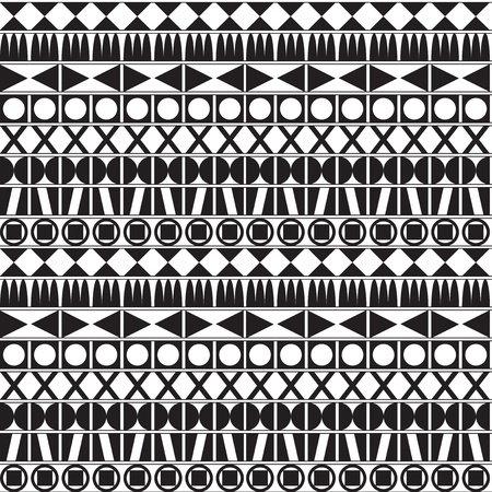 Monochrome Geometric Pattern Stock Vector - 18335485