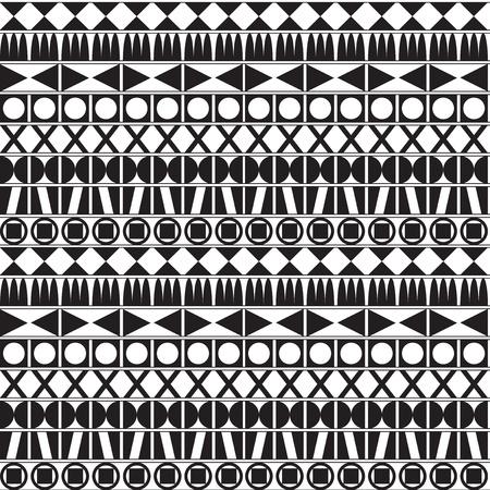 Monochrome Geometric Pattern Stock Vector - 18335485