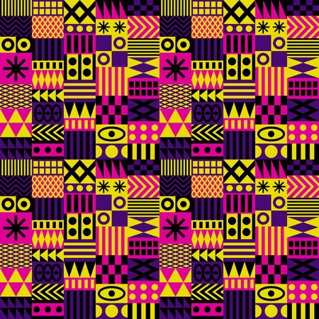 Seamless fashion trend pattern Vector