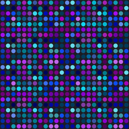 Techno dots background Vector