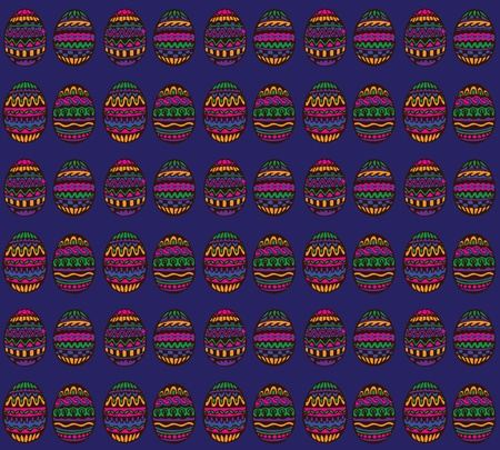 uganda: Blue decorative pattern