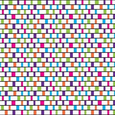 Colorful tiles pattern Vector