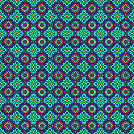 Colorful folk pattern Vector