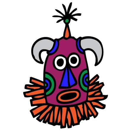 talismán: Máscara Tribal