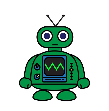 Mini Robot Vector