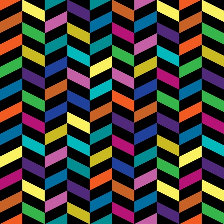 Colorful Retro Fashion Pattern Stock Vector - 19024033