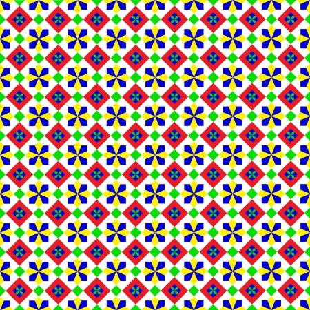 Summery Geometric Pattern