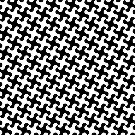Rounded Hounds Tooth Pattern Vector