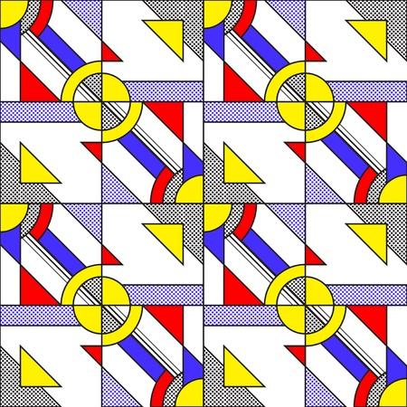 Pop Art Pattern Stock Vector - 19611809