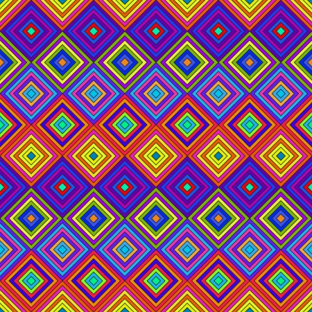 Colorful Psychedelic Pattern Stock Vector - 19754984