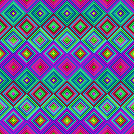 Colorful Psychedelic Pattern Vector