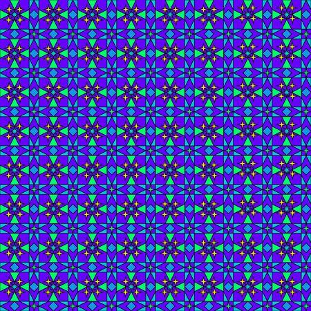 Dark blue ornate pattern Vector
