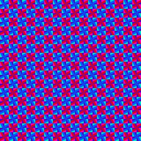 Pink and blue geometric pattern Vector