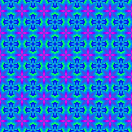 Colorful Wallpaper Pattern Illustration