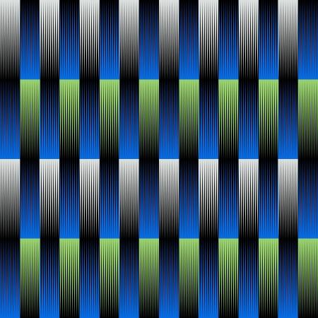 virtual sculpture: Op-Art Vintage Gradient Pattern