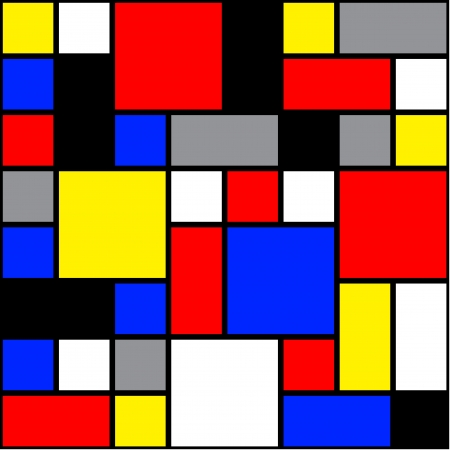 fondo pop: Seamless pop mondrian