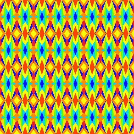 Multicolored Geometric Pattern