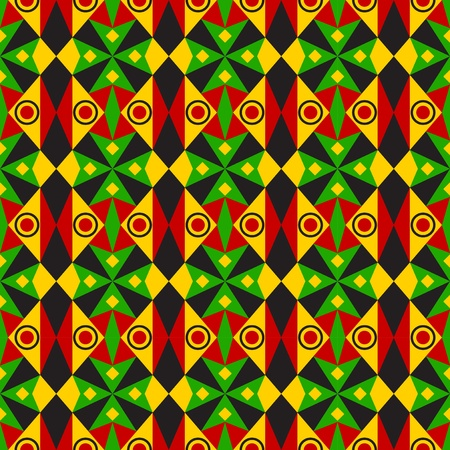Tribal African Pattern Vector