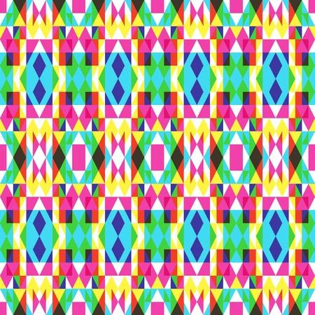 Colorful Symmetrical Pattern Illustration