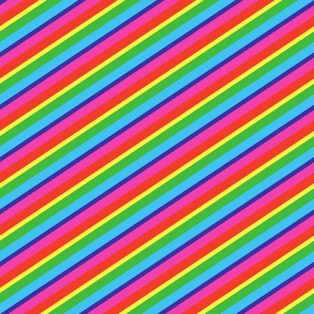 diagonal stripes: Diagonal Rainbow Stripes pattern