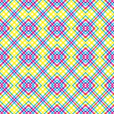 Colorful Diagonal Squares Pattern Vector