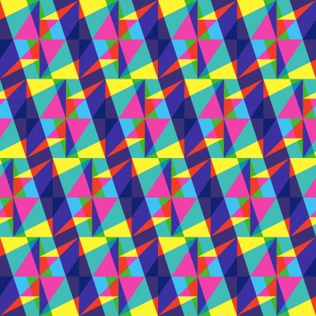 Multicolored Geometric Stipes Stock Vector - 20949178