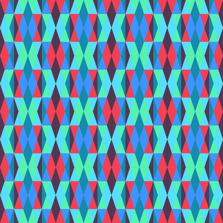 Retro Modern Argyle Pattern Vector