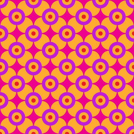 pastiche: Sixties Geometric Pattern