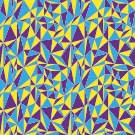 triangular shape: Irregular geometric pattern