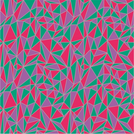 Irregular triangles pattern Vector