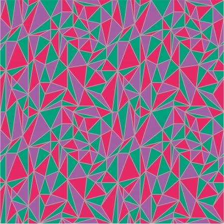 irregular: Irregular triangles pattern