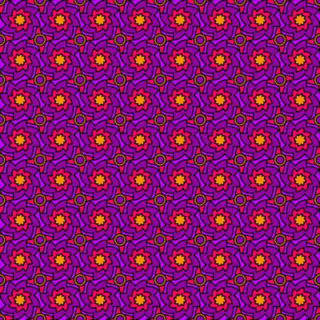 seventies: Purple Seventies Pattern