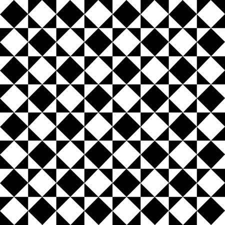 Monochrome Diagonal Checkered Pattern