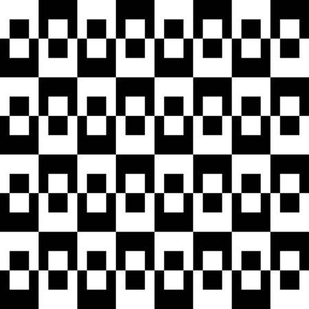 Sixties Monochrome Op pattern