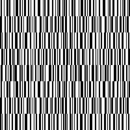 Monochrome stripes pattern