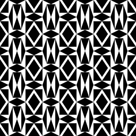 timeless: Timeless geometric black and white pattern